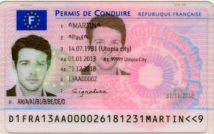 Nouveau permis de conduire mode d'emploi