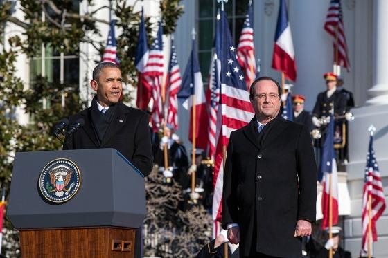 Ukraine. Hollande s'est entretenu avec Obama