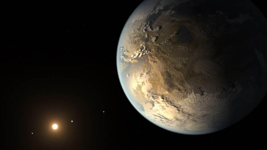 Kepler 186f l'autre planète Terre ?
