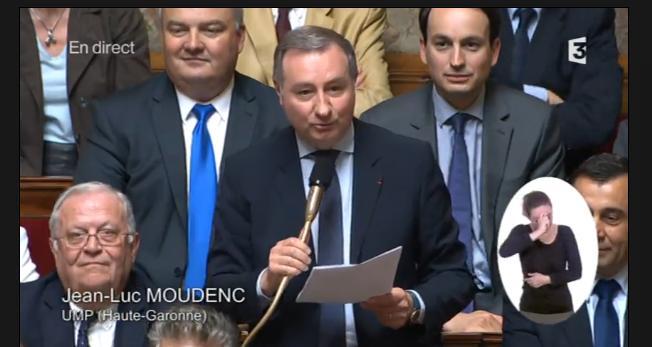 Moudenc longuement applaudi devant l'Assemblée nationale