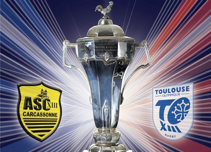 Le Toulouse Olympique remporte la Coupe de France de rugby à XIII