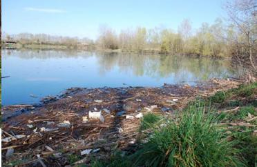Ils ont nettoyé les rives du lac Bazet