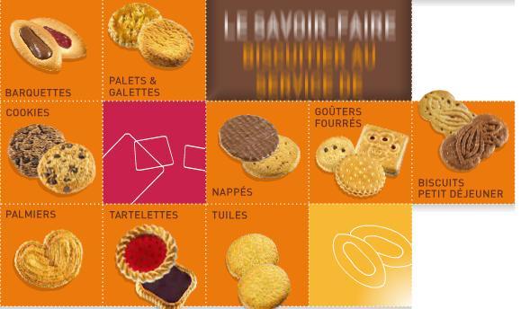 Semaine de l'industrie, coupe de projecteur sur la confection de biscuits