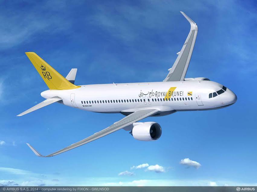 Airbus vend 7 A320neo à Royal Brunei Airlines