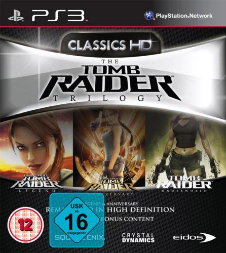 Tomb Raider trilogy PS3 neuf 16.90 euros