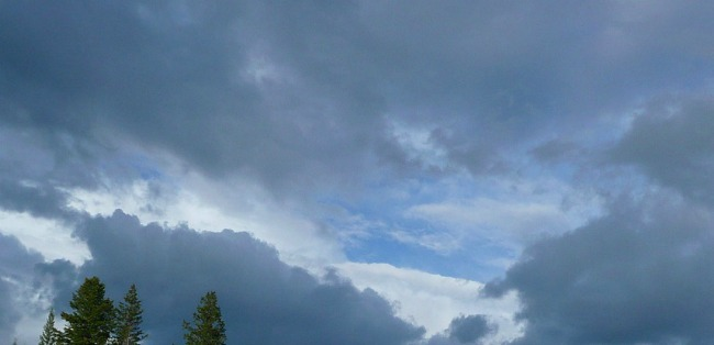 Les orages arrivent sur Toulouse