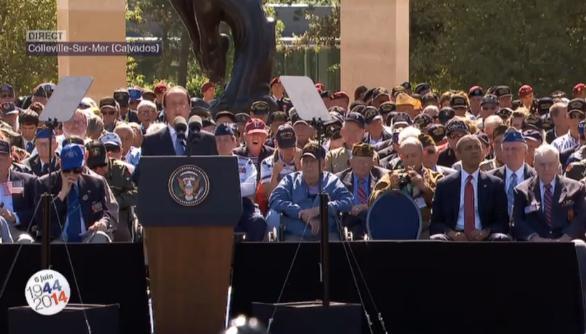 """""""Jamais nous n'oublierons le sacrifice des soldats américains"""""""