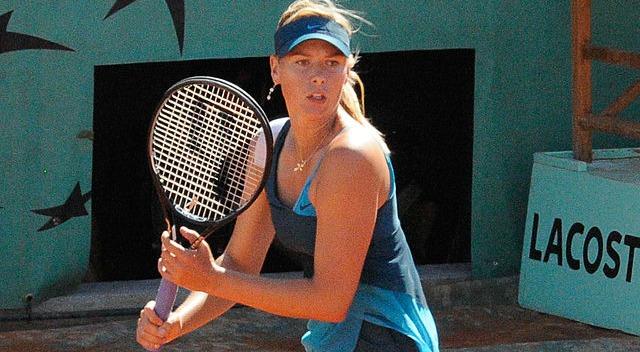 Sharapova en finale de Roland Garros