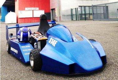 Le Superkart électrique lancé à Nogaro