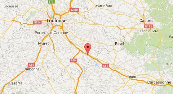 Deux morts dans un accident de la route au sud de Toulouse