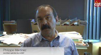 Contre la loi travail, Philippe Martinez à la manoeuvre
