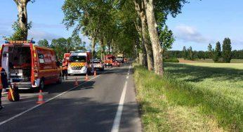 Un mort dans un accident de la route au nord de Toulouse