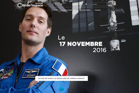Thomas Pesquet à suivre en direct à la Cité de l'Espace de Toulouse