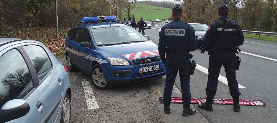 Tarn. les gendarmes réservistes mobilisés pour une vaste opération de contrôle