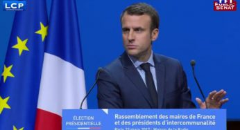 Emmanuel Macron autoritaire face à David Pujadas