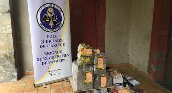 130 kilos de drogue et des armes saisies en Ariège