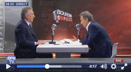 François Bayrou, ministre de la justice, mis en examen pour diffamation