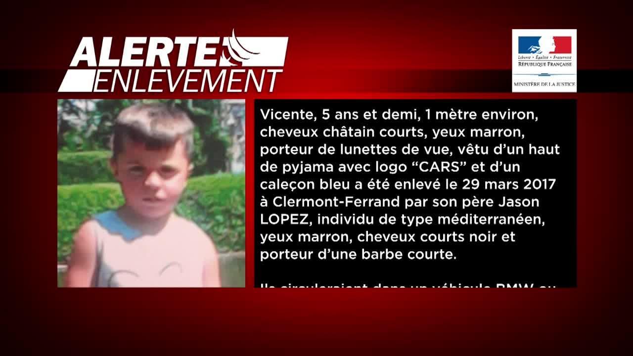 Vincente enlevé par son père retrouvé à Toulouse