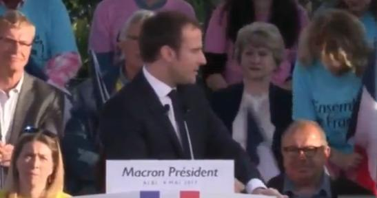 macron meeting Albi
