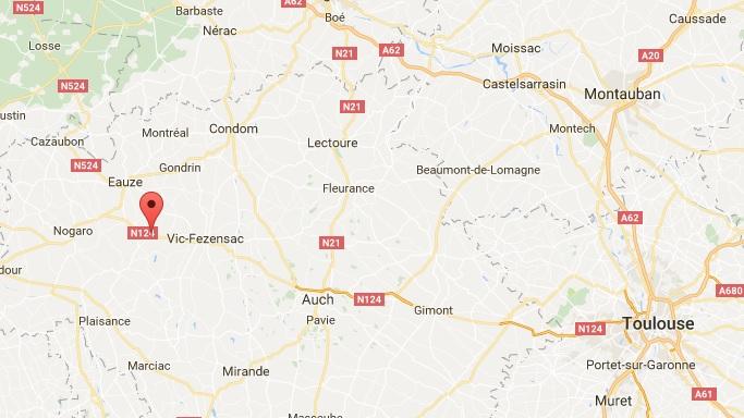 1 mort et 3 blessés graves dans un accident de la route dans le Gers
