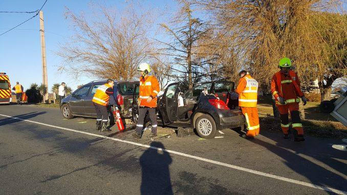 Deux blessés graves dans un accident de la route dans le Tarn