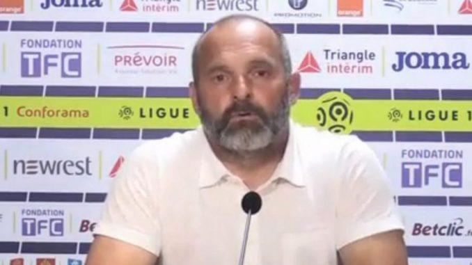 Toulouse 18e, début de crise au TFC