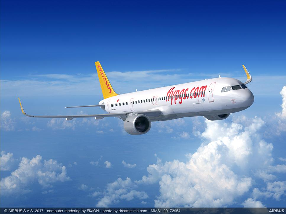 Turquie. la Compagnie Pegasus commande 25 avions Airbus A321 neo