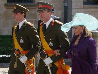 le Grand-Duc et la Grand-Duchesse de Luxembourg en visite à Toulouse