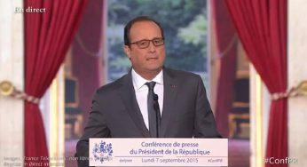 François Hollande en dédicace à Toulouse, déjà la foule
