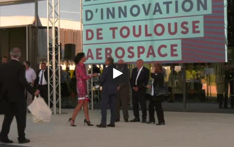 La famille d'Antoine Saint Exupéry à Toulouse pour inaugurer le B612, pépite de l'aéronautique