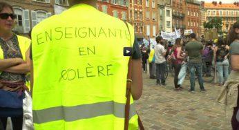 Toulouse. la colère des enseignants et des parents d'élèves des écoles primaire et élémentaire
