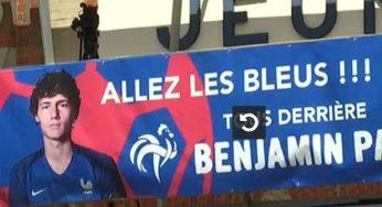 Benjamin Pavard accueilli en héros à Jeumont (59)