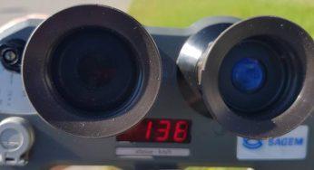 Une conductrice à 137 km/h sur une portion limitée à 80 à l'est de Toulouse