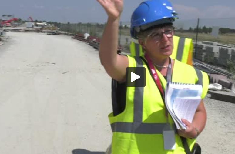 Toulouse : Le chantier du futur Parc des expositions se visite