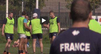 Rugby à 13, l'équipe de France s'entraîne à Toulouse