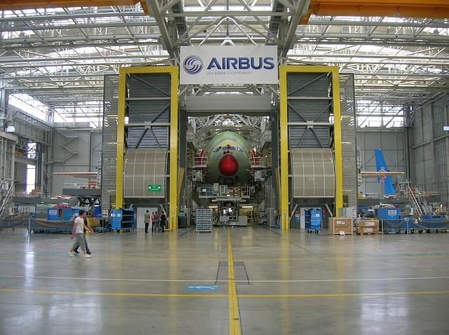Airbus la chaîne de montage de Toulouse mise en pause