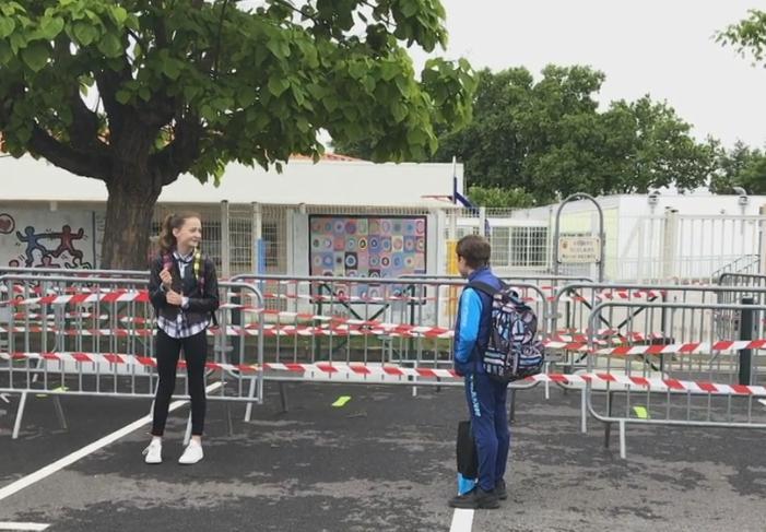 Près de Toulouse, une rentrée scolaire sous menace de Coronavirus