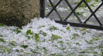 De violents orages de grêle se sont abattus sur Toulouse et jusqu'au Tarn