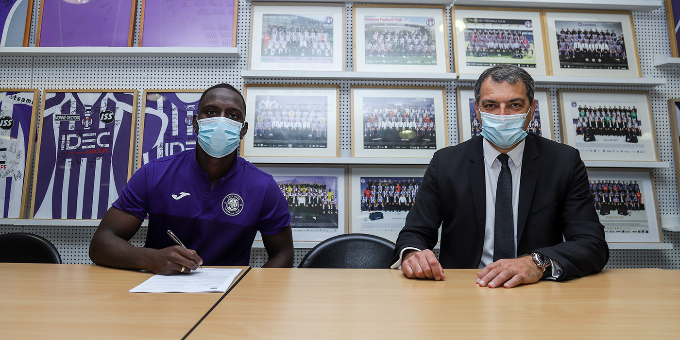 International colombien Deiver Machado signe au Toulouse Football Club