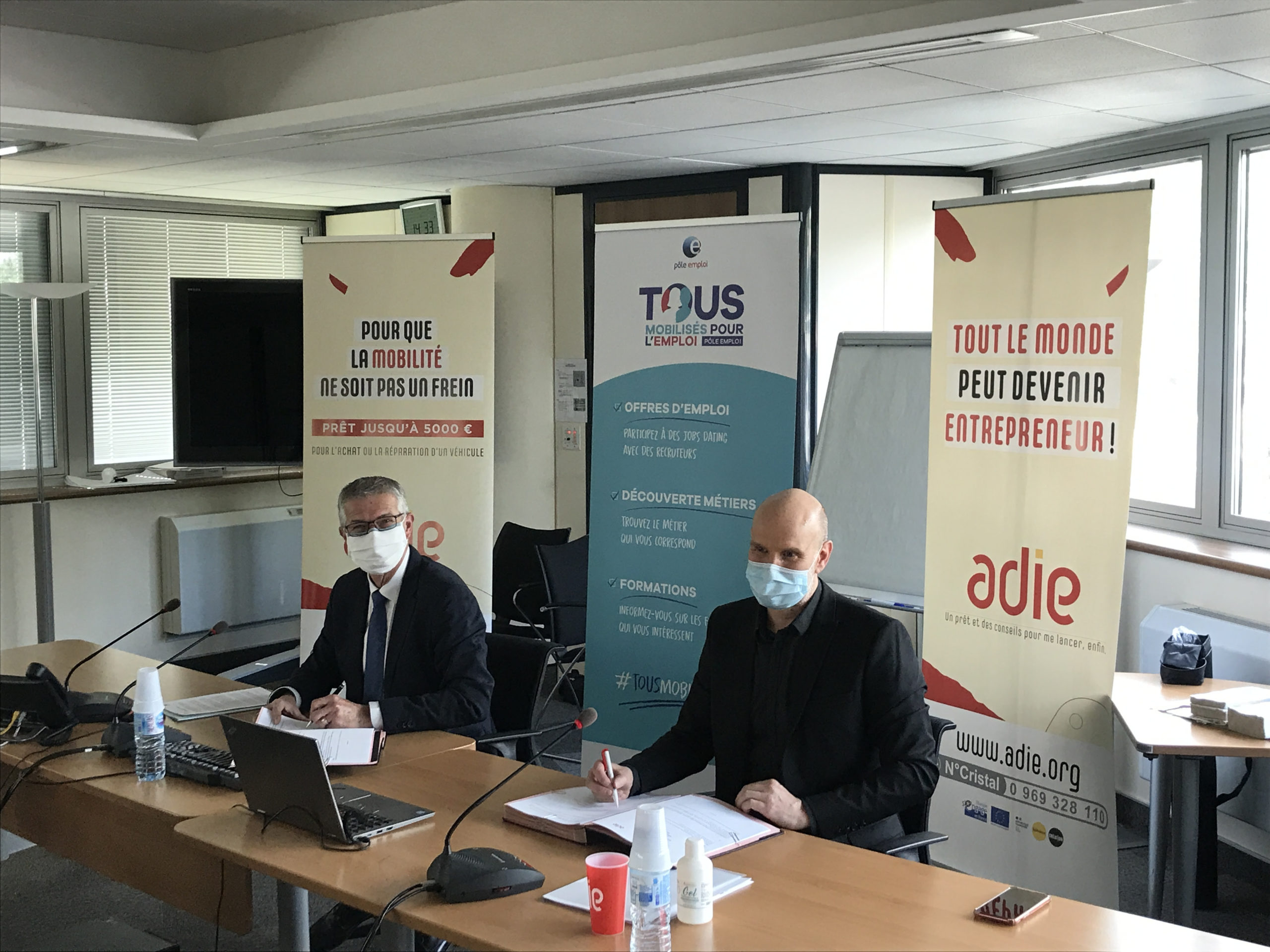 L'Adie et Pôle emploi veulent aider la création d'entreprise en Occitanie