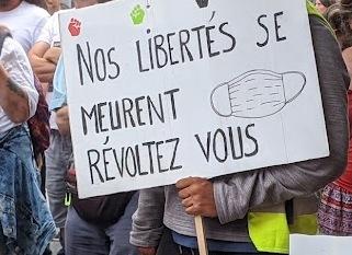 Manif Anti Passe Sanitaire à Toulouse : 7 arrestations, 5 policiers blessés