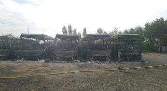 Saint Lys – 10 bus détruits dans un incendie, la gendarmerie cherche témoins