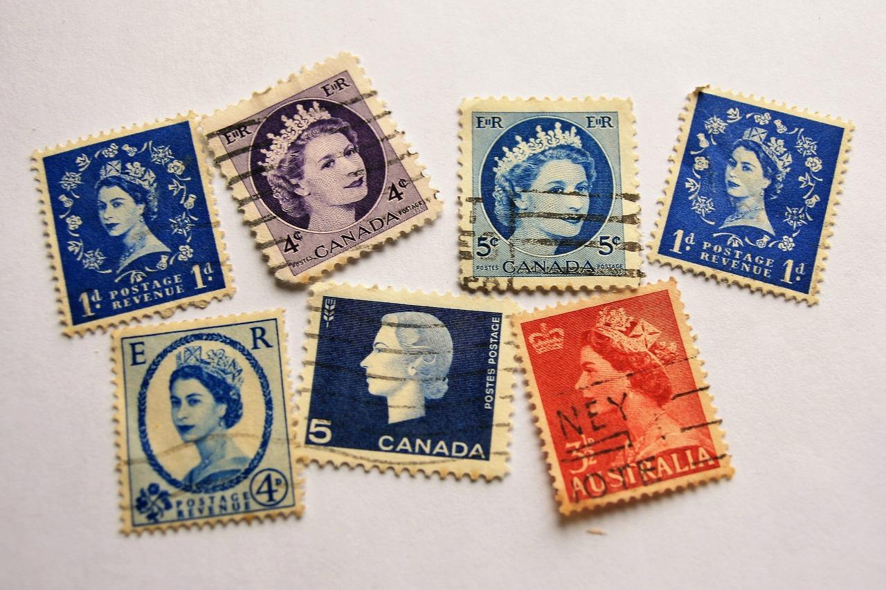 L'évolution du prix du timbre dans le temps