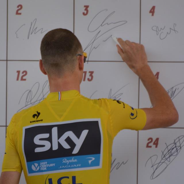Masque obligatoire le long du Tour de France