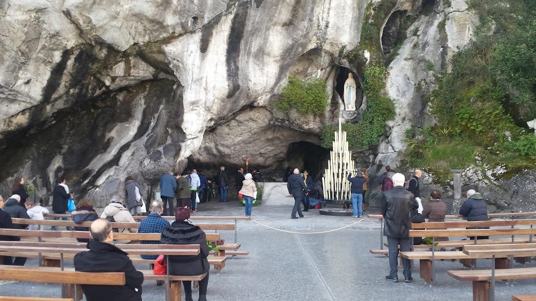 La foule de retour à Lourdes pour ce pèlerinage du 15 Août 2021