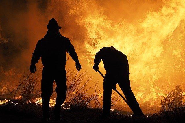 Hérault - journée rouge sur le front des Incendies
