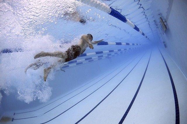 Florent Manaudou médaille d'argent du 50 m nage libre