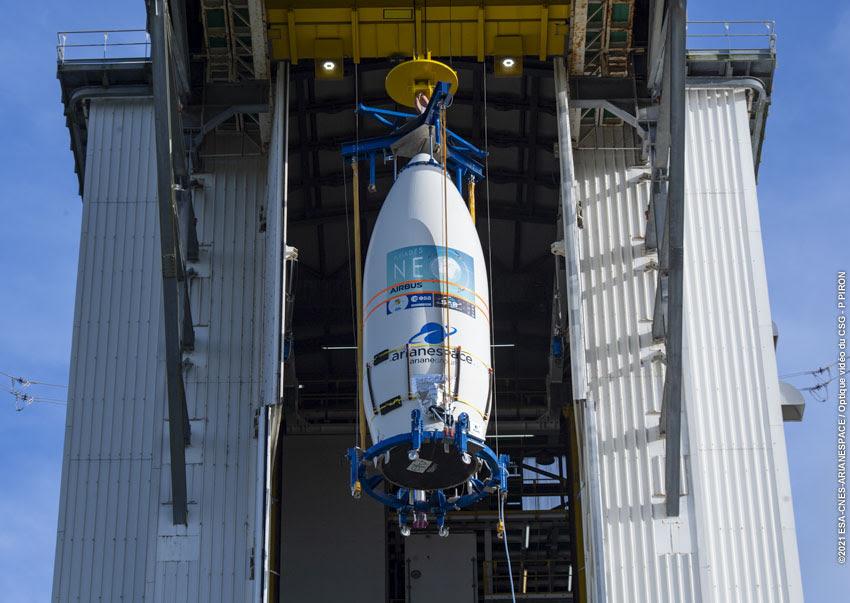 Lancement réussi pour le satellite Pléiades par Véga Arianespace