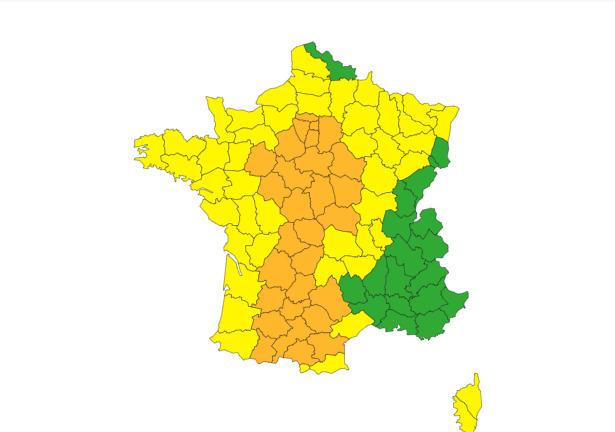 Alerte aux orages violents à Toulouse et dans 32 départements